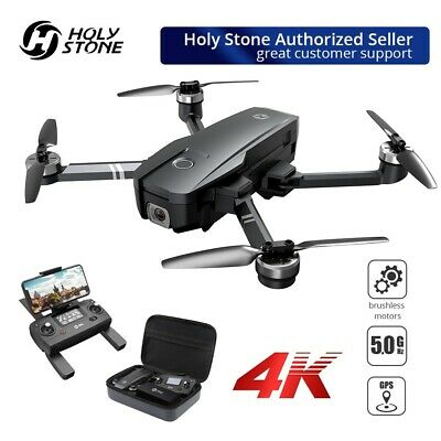 Holy Stone HS720 foldable brushless GPS drone with 4K UHD Camera 5G FPV  +CASE