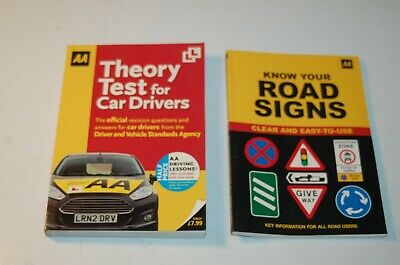 Theory Test for Car Drivers (AA Driving Test)+ FREE KNOW YOUR ROAD SIGN BOOK AA