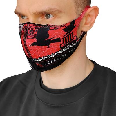 Reusable Face Mask with Additional Filters Viking Print