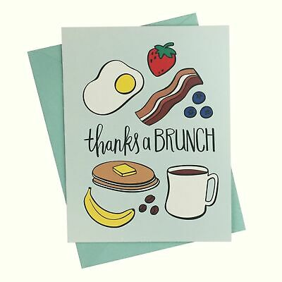 Paper Riot Co Thanks a Brunch Thank You Cards Pack of 10