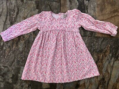 Next Girls Pink Floral Dress. Age 3-4. Excellent Condition.