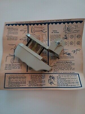 Vintage Judy Jewel Co. hand held sewing machine perfect for the collector