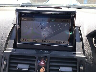 Mercedes C Class W204 Sat Nav Display Screen Complete 2009