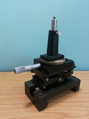 Ealing 2 Axis Microscope Positioning Stage Linear / Elevation