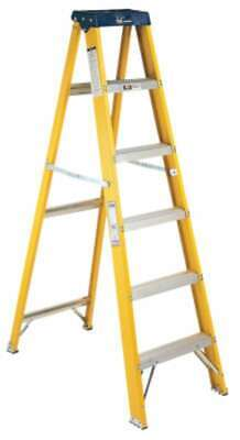 Louisville Ladder® FS2000 Series Pioneer Fiberglass Step Ladders 728865025883
