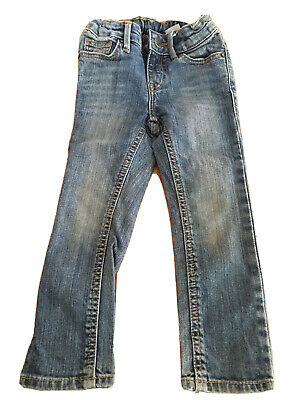 Boys blue jeans size 2-3 years H&M adjustable waist slim model