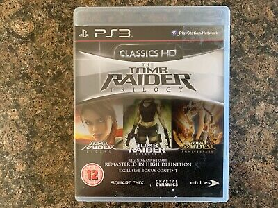 Tomb Raider Trilogy Boxed & Complete PS3