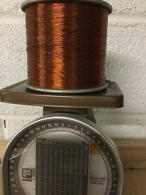 Vintage Roll Of Copper Wire 6 Lbs.