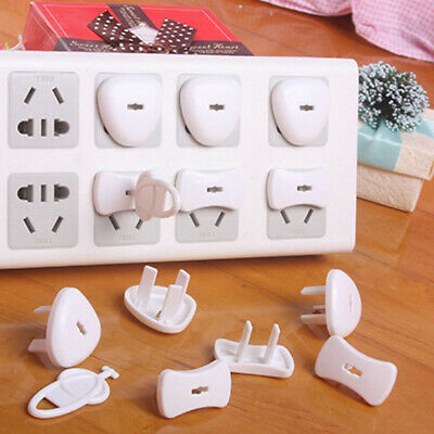 24pcs Safety Outlet Plug Protector Covers Child Baby Proof Electric Shock Guard