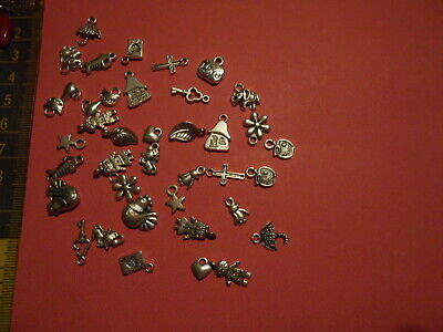 20 RABBIT CHARMS ASSORTED COLOUR JEWELLERY MAKING CRAFTS  30mm  CHP0130