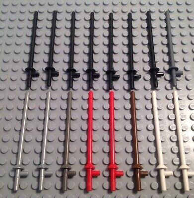 LEGO Minifig RED LANCE Weapon Lance Castle Knight Jousting Lot of Two