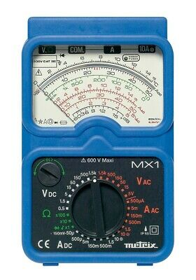 **CLEARANCE** Chauvin Arnoux MX1 Analogue Multimeter