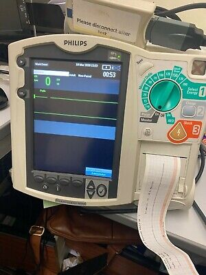 Paramedic Ambulance Phillips Mrx Monitor With Etco2 Nibp Spo2 12 Lead Ecg