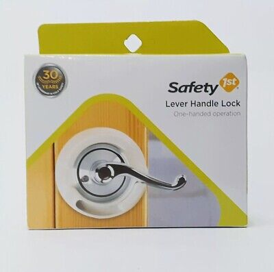 Safety 1st Lever Handle Lock. One-handed operation. Baby Proofing