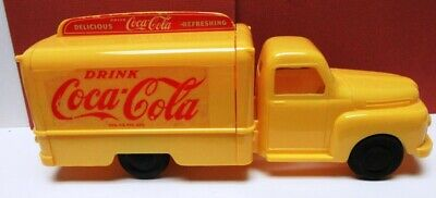 """""""Must Have"""" Rare 1950S Coca-Cola Plastic Delivery Truck By Marx-Beautiful-Clean-"""