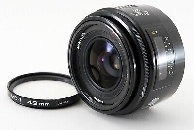 Minolta AF 28mm F/2.8 Prime Lens For Sony A Mount Excellent+ Japan Tested #3970