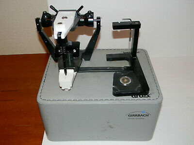 Girrbach Artex Dental Articulator with facebow & accessories (full set)
