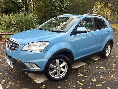Ssangyong Korando 2.0TD 4x4 Auto EX **Great Spec** Full History Automatic Diesel