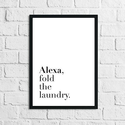 Laundry Room Prints Inspirational Home Decor Room Art Poster Wall Quotes Funny