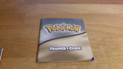 Pokemon Trainer's Guide goldene silberne Version Game Boy Color Anleitung Manual