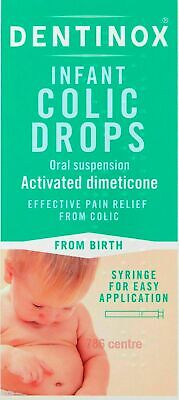 Dentinox Baby Colic Drops 100ml Effective Pain & Wind Relief for New Born babies