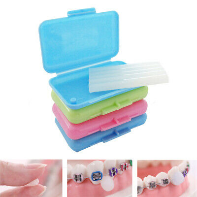 10X Fruit Scent Dental Orthodontics Ortho Wax Teeth For Braces Gum Irritation