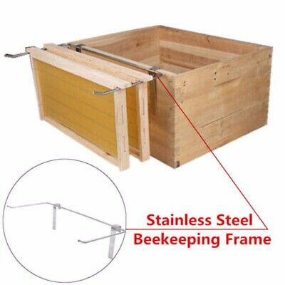 Stainless Steel Beekeeping Frame Holder Bee Hive Perch Durable Tools