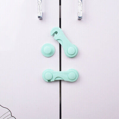 Baby Drawer Lock Plastic Child Security For Cabinet Refrigerator Window Closet