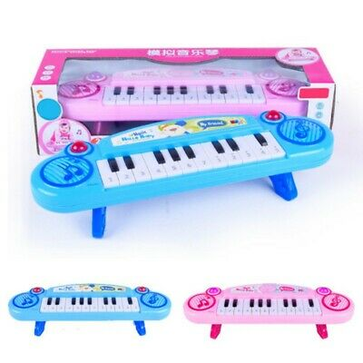 Baby Girl Electric Instrument Toy Mini Keyboard 12 Keys Musical Piano Funny Toys
