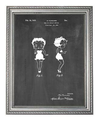 Betty Boop Kiss 16x20 poster Pink Hearts wink Girly Iconic Dorm Icon Cartoon New