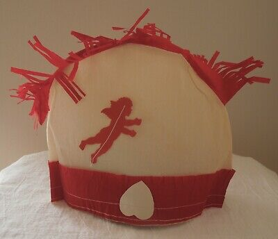 1920's Antique Vintage Dennison Valentine's Day Party Hat Cupid and Arrow