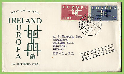 ?Ireland 1963 Europa set First Day Cover