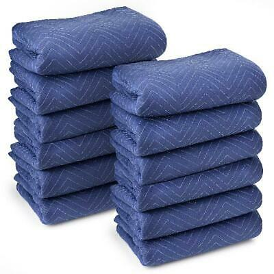 """Sure-Max 12 Moving & Packing Blankets - Deluxe Pro - 80"""" x 72"""" (40 lb/dz weight)"""