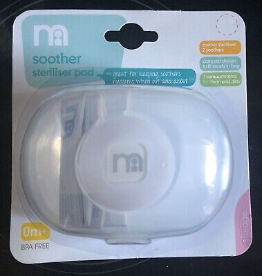 Mothercare Soother Steriliser Microwave Pod New And Sealed