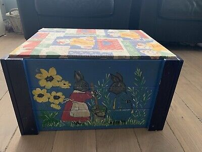 Toy Box Toy Storage Beautiful Hand Made & Hand Painted