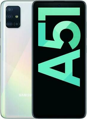 SAMSUNG Galaxy A51 Bianco 128 GB Dual Sim Display 6.5 Full HD Smartphone White