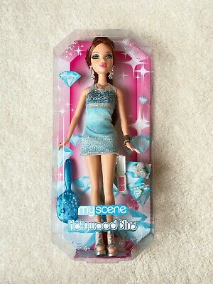 Barbie My Scene Kennedy Doll Blonde Hair Belly Button Ring Stud Bling Accessory