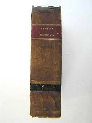 208 Year Old ANTIQUE LAW BOOK  Supreme Court    1812