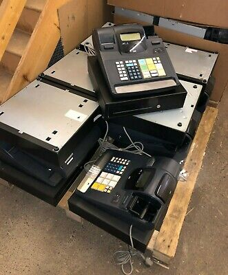 Lot 12x Toshiba TEC MA-600 Electronic Cash Registers / Tills