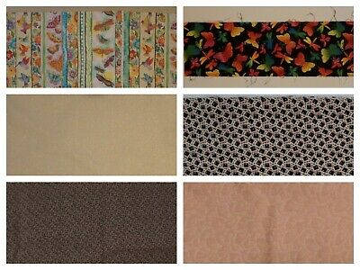 Cotton Quilting Fabric. 42 to 44 inches wide. Various lengths.