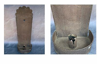 Authentic Handcrafted Early American Colonial Tinsmith PATRIOT CANDLE SCONCE