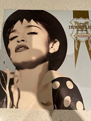 MADONNA - IMMACULATE COLLECTION -LASER DISC Pal Pre Owned