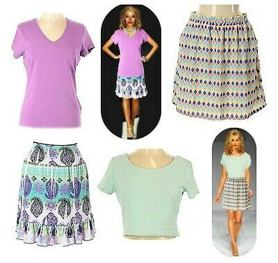 Size Large Tops-Skirts/H&M/buttons/Susan Bristol/Wrapper some NWT