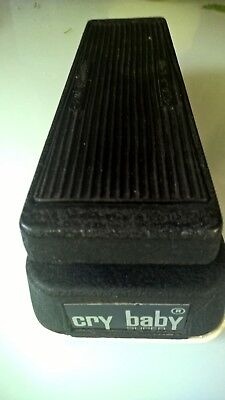 JEN CRY BABY SUPER WAH pedal made in italy RARE GREEN FASEL inductor vintage