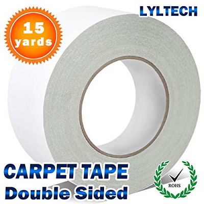 Double Sided Carpet Tape for Rugs 15 Yards X 1.5