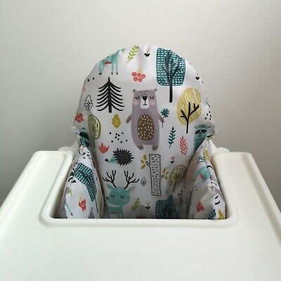 IKEA Antilop High Chair Cushion Cover Woodland
