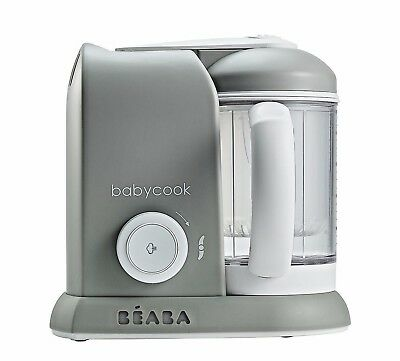 Beaba Baby-Cook 4 in 1 Baby Food Processor - Grey