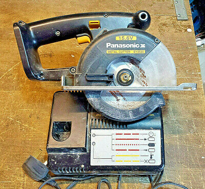 Panasonic EY3530 metal cutting saw...15.6 VOLT Body only..plus charger and blade