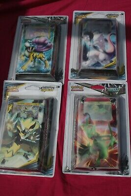 lot pokemon - 4 deck mewtwo , raikou , jungko , zeraora