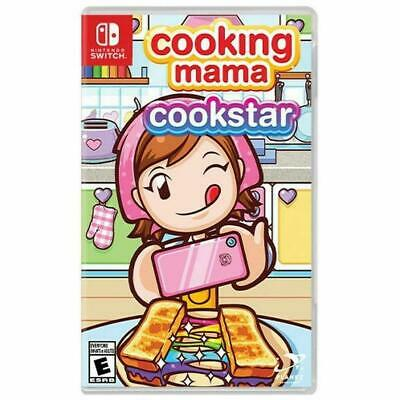 Cooking Mama: Cookstar (Switch, 2020) - Brand New Sealed US Stock on Hand